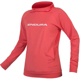 Endura SingleTrack - Sweat à capuche Femme - rouge